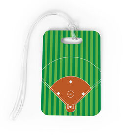Softball Bag/Luggage Tag - Field