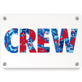 Crew Metal Wall Art Panel - Floral Crew