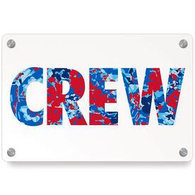 Crew Metal Wall Art Panel - Floral Crew
