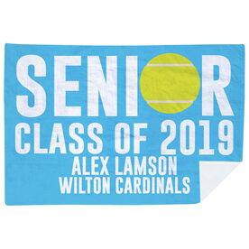 Tennis Premium Blanket - Personalized Senior Class Of
