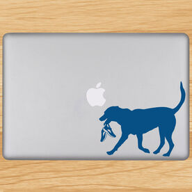 Rex The Running Dog Removable GoneForaRunGraphix Laptop Decal