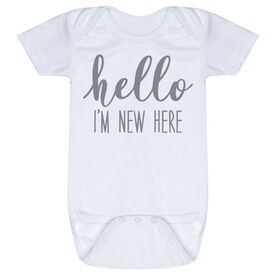 Baby One-Piece - Hello I'm New Here