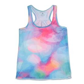 RunTechnology® Performance Tank Top - Watercolor Tie-Dye