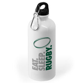 Rugby 20 oz. Stainless Steel Water Bottle - Eat. Sleep. Rugby.