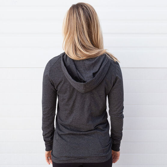 Women's Running Lightweight Performance Hoodie - Run Heart