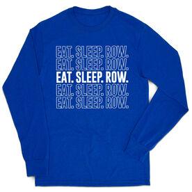 Crew Tshirt Long Sleeve - Eat. Sleep. Row