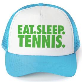 Tennis Trucker Hat - Eat Sleep Tennis