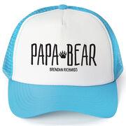 Personalized Trucker Hat - Papa Bear
