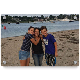 Personalized Metal Wall Art Panel - Custom Photo Horizontal