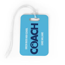 Cross Training Bag/Luggage Tag - Personalized Coach