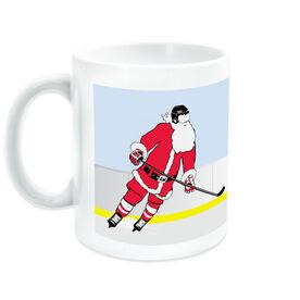 Hockey Coffee Mug Slap Shot Santa