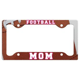 Football Mom License Plate Holder