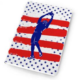 Football Notebook USA Touchdown