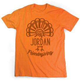 Short Sleeve T-Shirt - Friendsgiving Turkey