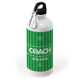Guys Lacrosse 20 oz. Stainless Steel Water Bottle - Coach Field
