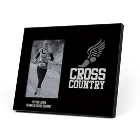 Cross Country Photo Frame - Cross Country Winged Foot