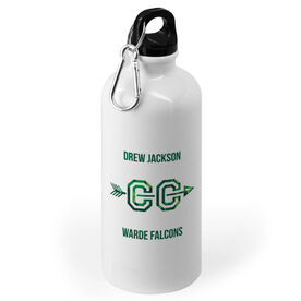 Cross Country 20 oz. Stainless Steel Water Bottle - With Arrows