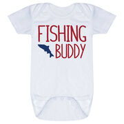 Fly Fishing Baby One-Piece - Fishing Buddy