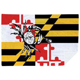 Guys Lacrosse Premium Blanket - Maryland Lacrosse