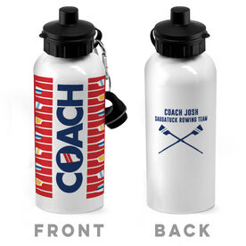 Crew 20 oz. Stainless Steel Water Bottle - Coach