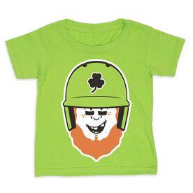 Baseball Toddler Short Sleeve Tee - Lucky McCurveball