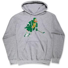 Hockey Hooded Sweatshirt - Hockey Leprechaun