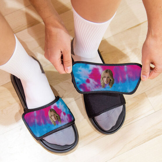 Personalized Repwell® Slide Sandals - Custom Face