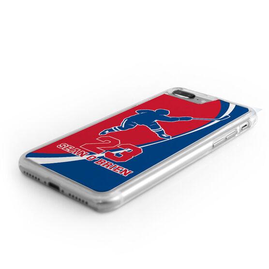 Hockey iPhone® Case - Personalized Slap Shot