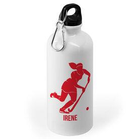 Field Hockey 20 oz. Stainless Steel Water Bottle - Field Hockey Silhouette
