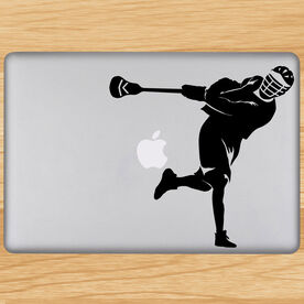 Removable Laptop Decal Let It Rip Silhouette