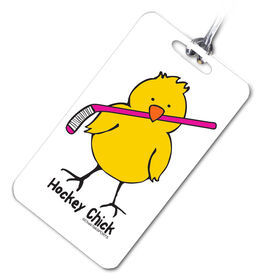 Hockey Bag/Luggage Tag Hockey Chick