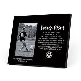 Soccer Photo Frame - Soccer Mom Poem