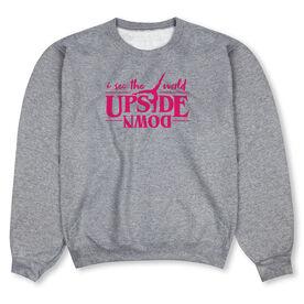 Gymnastics Crew Neck Sweatshirt - Upside Down