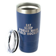 Field Hockey 20 oz. Double Insulated Tumbler - Personalized Eat Sleep Field Hockey