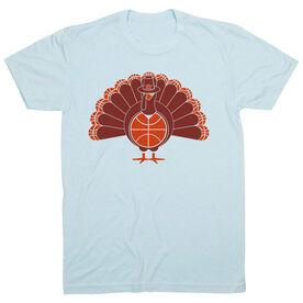 Basketball Short Sleeve T-Shirt - Turkey Player