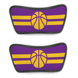 Basketball Repwell™ Sandal Straps - Team Color Stripes