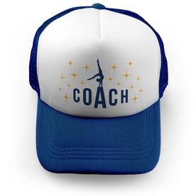 Gymnastics Trucker Hat - Coach (Spotlight)