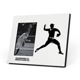 Baseball Photo Frame - Pitcher