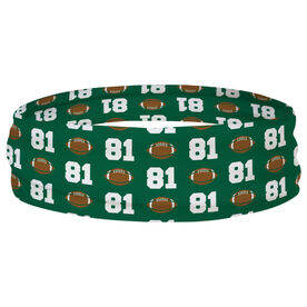 Football Multifunctional Headwear - Custom Team Number Repeat RokBAND