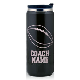 Stainless Steel Travel Mug Football Coach