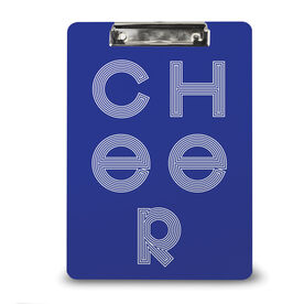 Cheerleading Custom Clipboard Cheer Letters
