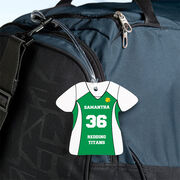 Softball Jersey Bag/Luggage Tag - Personalized Jersey