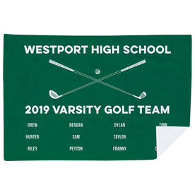 Golf Premium Blanket - Team Roster