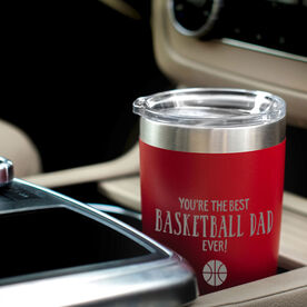 Basketball 20oz. Double Insulated Tumbler - You're The Best Dad Ever