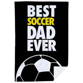 Soccer Premium Blanket - Best Dad Ever