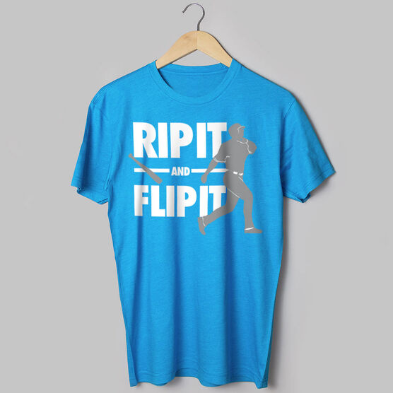 Baseball Tshirt Short Sleeve Rip It Flip It