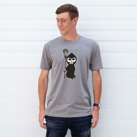 Guys Lacrosse Short Sleeve Tee - Lacrosse Reaper