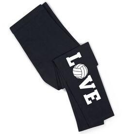 Volleyball Leggings - Volleyball Love