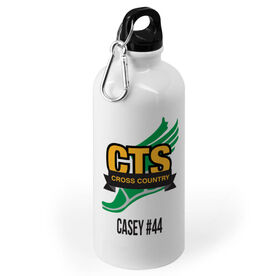 Cross Country 20 oz. Stainless Steel Water Bottle - Custom Logo