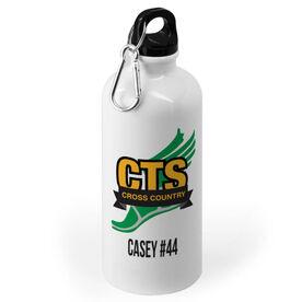 Cross Country 20 oz. Stainless Steel Water Bottle - Custom Logo